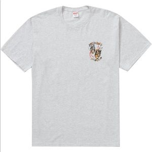 Supreme Laugh Now Ash Grey Tee Size M